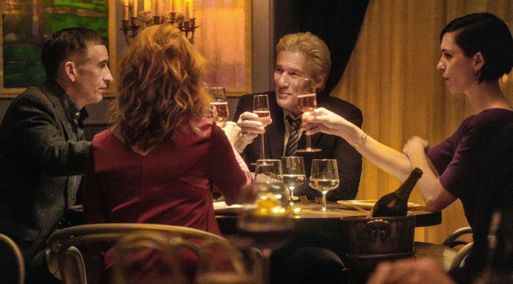 Der Schein trügt bei diesem Abendessen mit Richard Gere (Mitte)