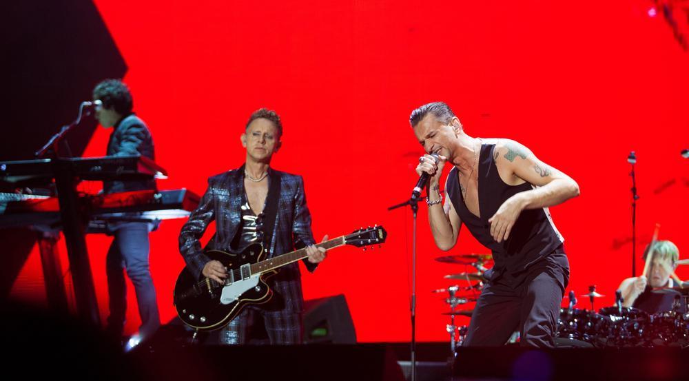 Depeche Mode sind aktuell in ganz Europa auf Tour