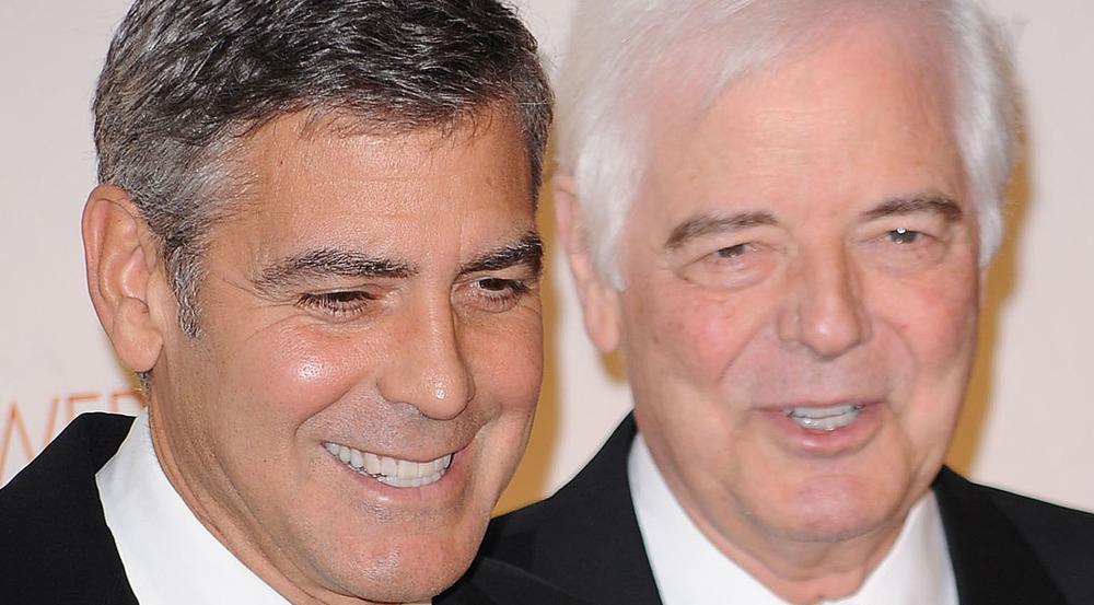 George Clooney und sein Vater Nick gemeinsam bei einem Event im Jahr 2010