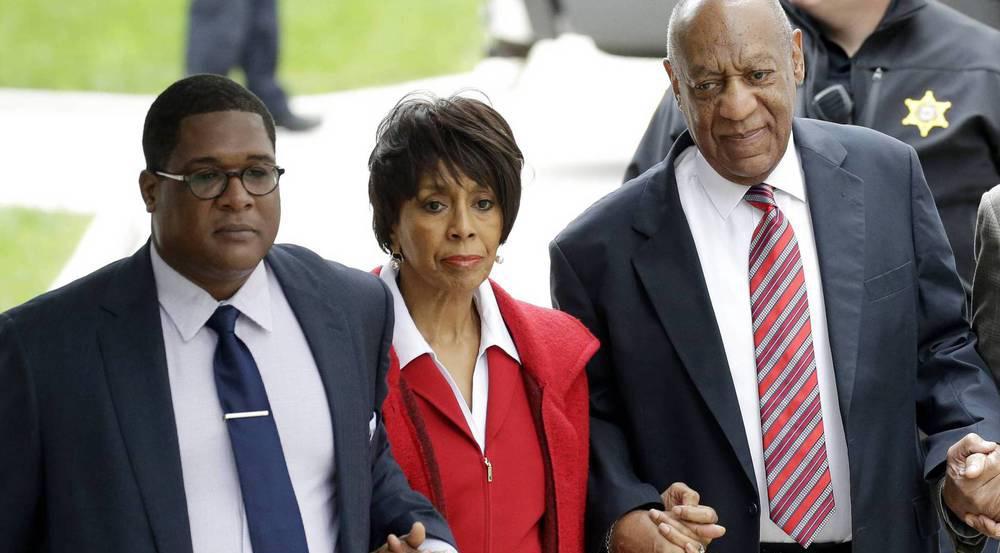 Schauspielerin Sheila Frazier begleitete Bill Cosby an Tag drei in den Gerichtssaal