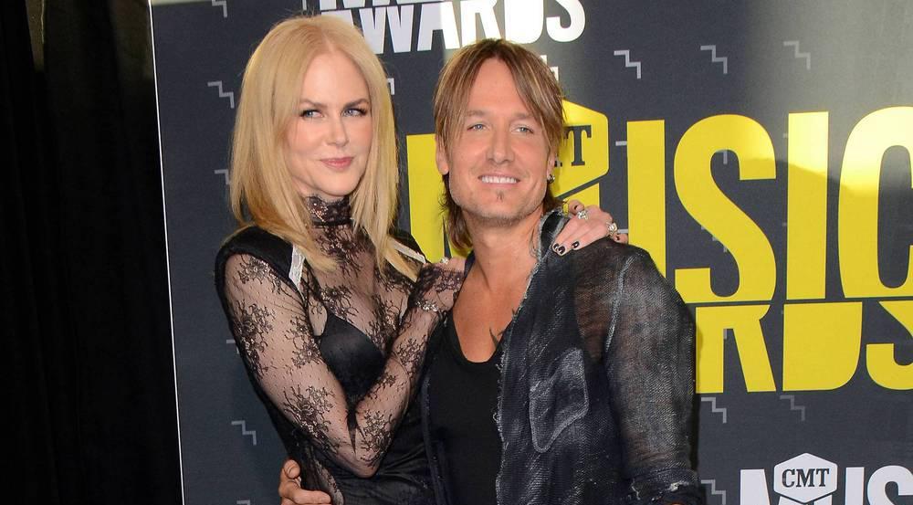 Nicole Kidman feiert Country-Star Keith Urban