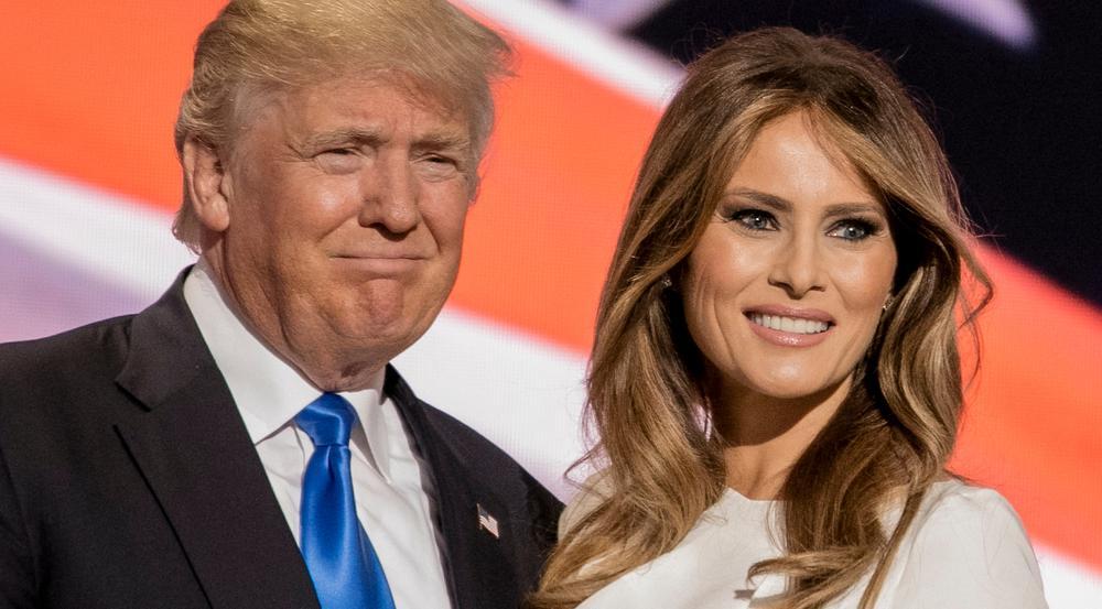 First-Ehepaar: Melania und Donald Trump