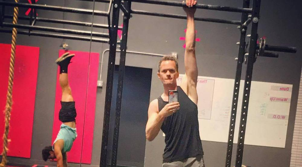 Neil Patrick Harris trainiert fleißig