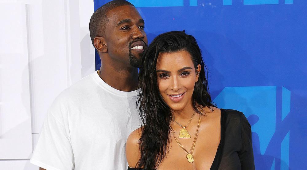 Kanye West, hier neben seiner Frau Kim Kardashian, feiert am 8. Juni seinen 40. Geburtstag
