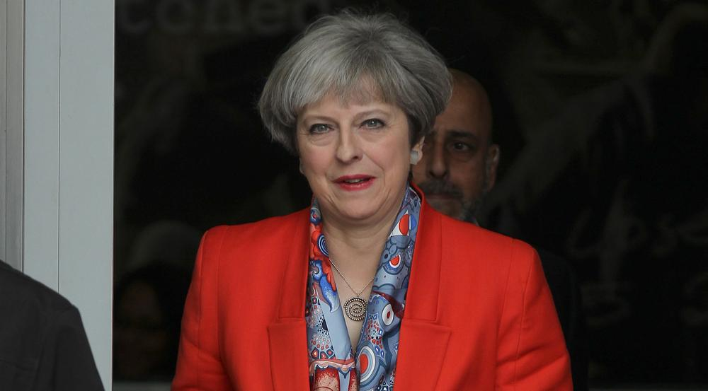Hat hoch gepokert und am Ende viel verloren: Theresa May
