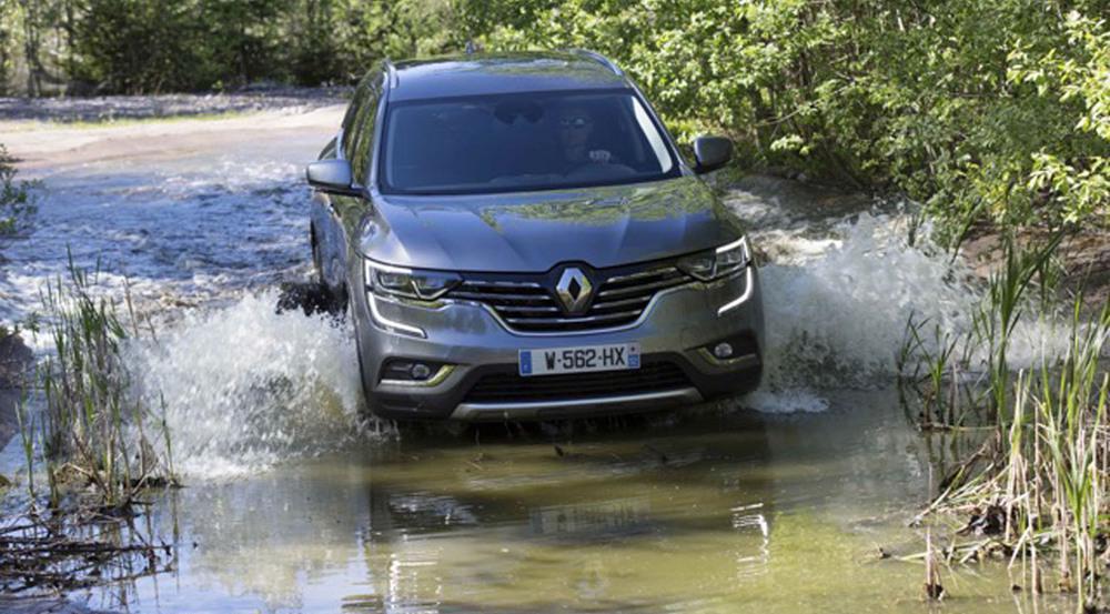 Der Renault Kollegs ist auch Offroad gut unterwegs