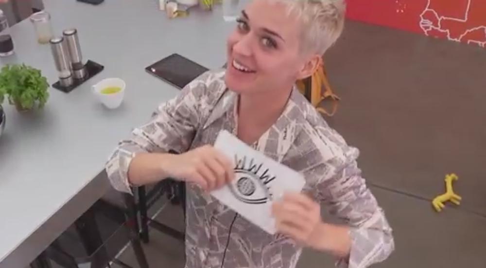 So privat sieht man den Superstar Katy Perry wohl nie wieder