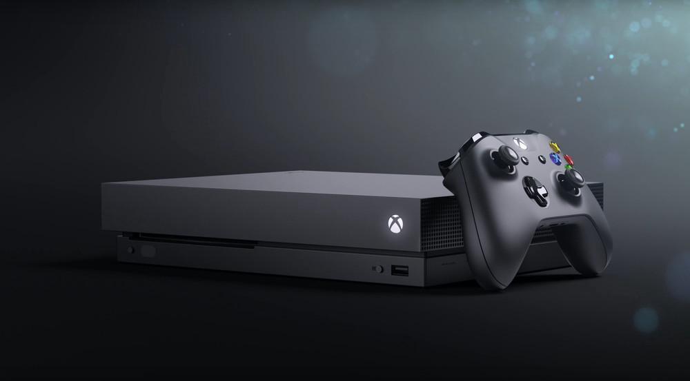 So sieht sie aus, die neue Xbox One X