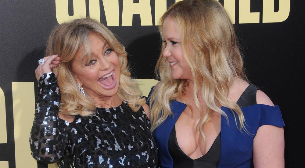 Goldie Hawn (l.) und Amy Schumer bei der Weltpremiere von