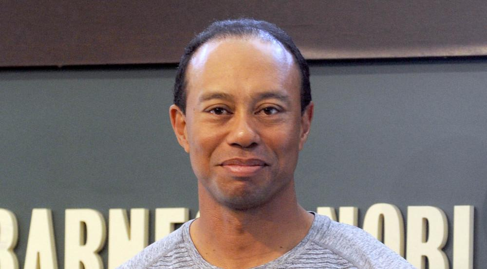 Tiger Woods im März 2017 bei einer Signierstunde für sein neues Buch