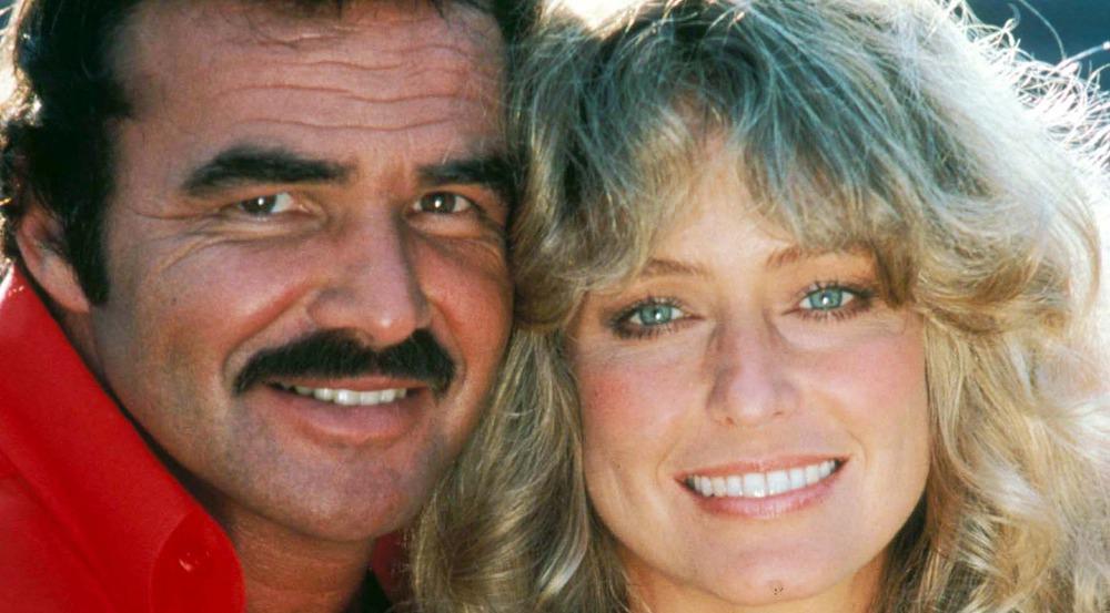 Burt Reynolds und Farrah Fawcett in