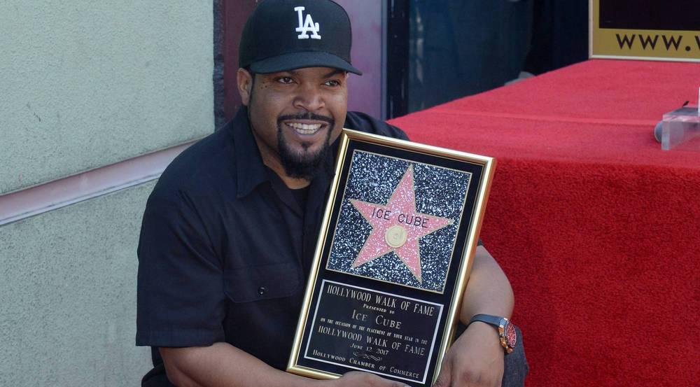 Hat seinen eigenen Stern bekommen: Ice Cube