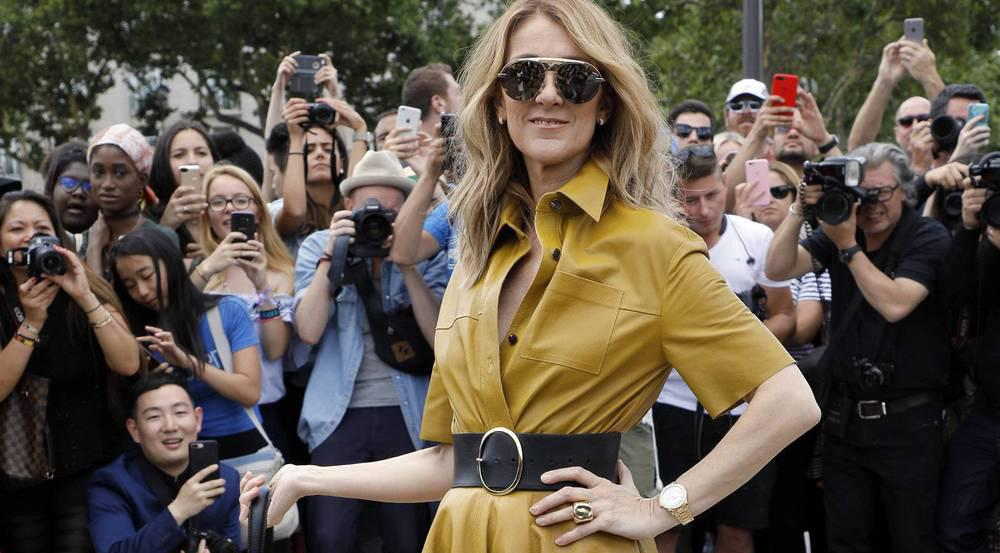 Céline Dion in Dior - absolut umwerfend
