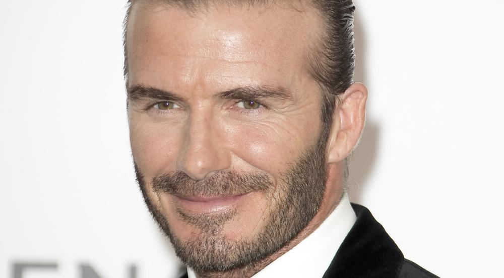 David Beckham musste den Kuss an seine Tochter Harper verteidigen