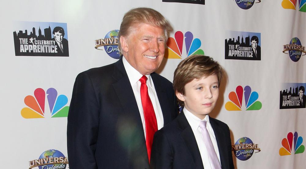 USA: Trumps jüngster Sohn wird Schule nahe Washington besuchen