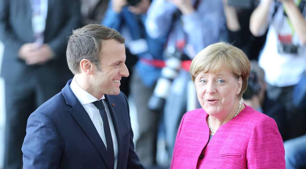 Oh là là! Angela Merkel und Emmanuel Macron scheinen sich gut zu verstehen