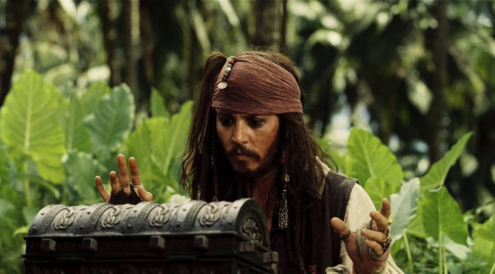 Johnny Depp in seiner Paraderolle als Captain Jack Sparrow