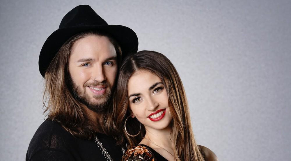 Ekaterina Leonova mit ihrem prominenten Tanzpartner Gil Ofarim