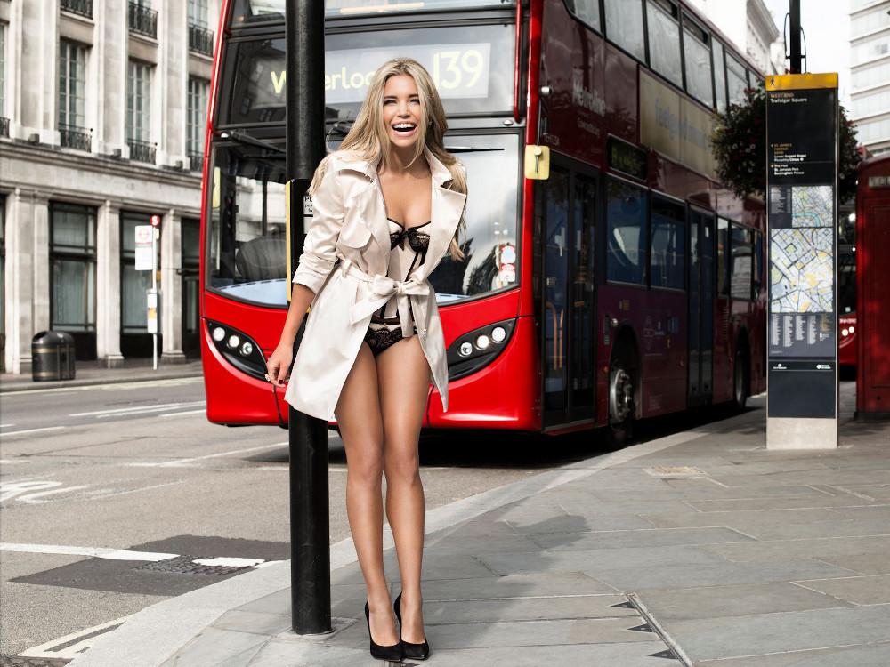 uk availability 9d5b1 c9cb3 Heiße Dessous: So sexy zeigt sich Sylvie Meis in London ...