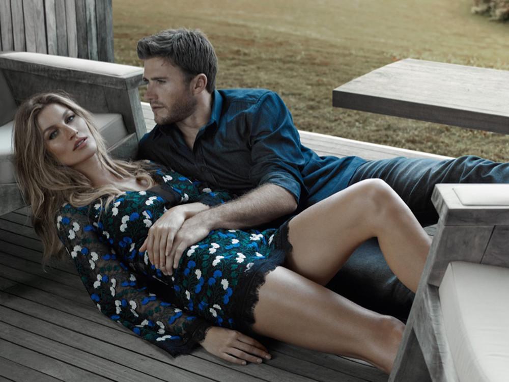 Colcci Scott Eastwood Und Gisele Bündchen Sexy Fotoshooting Für