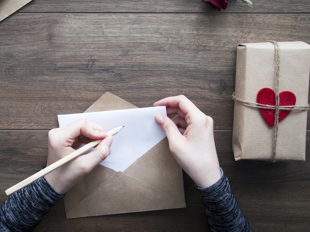 Umsonst: Ein Handgeschriebener Liebesbrief Zum Valentinstag. Liebesbriefe  Schreibt ...