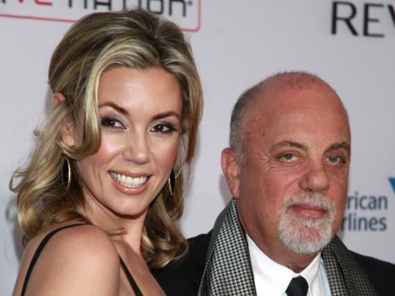 Billy Joel und Alexis Roderick gehen nun als Ehepaar durchs Leben