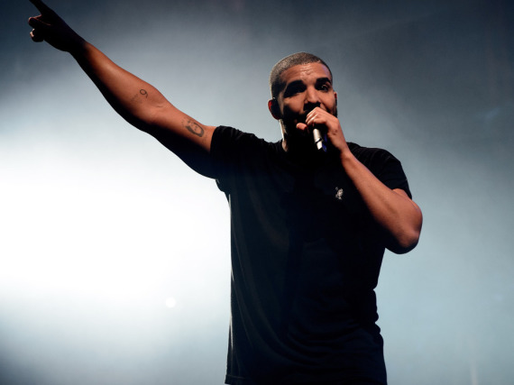 Drake performte beim Britain Wireless Festival