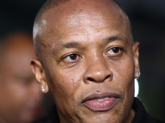 Dr. Dre in Los Angeles bei der Premiere von