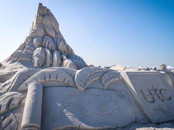 Vergängliche Kunst: Meisterwerke aus Sand in Sarasota County