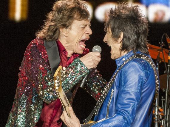 Das wollen die Leute immer noch sehen: Mick Jagger und Ronnie Wood von den Rolling Stones in Kanada