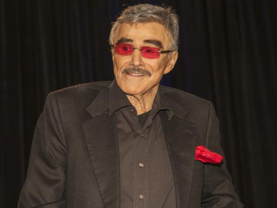 Burt Reynolds bei einem Auftritt im August in Chicago