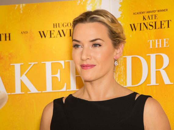 Kate Winslet bei einer Vorführung von