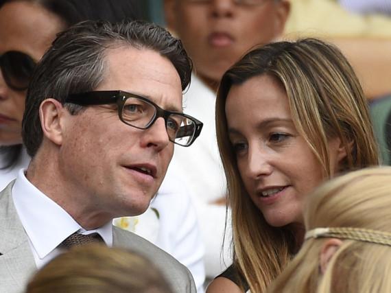 Ziehen Hugh Grant und Anna Eberstein zusammen?