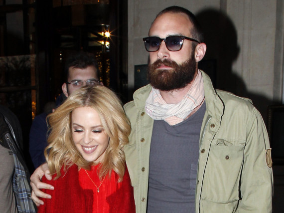 Kylie Minogue und Joshua Sasse sind seit 2015 ein Paar