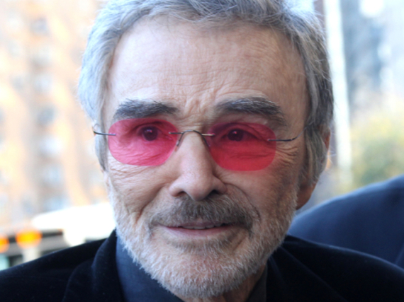 Burt Reynolds im November 2015 in New York