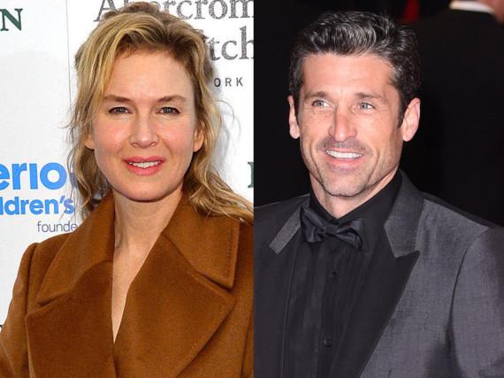 Kriselt es in Renée Zellwegers Beziehung wegen Patrick Dempsey?