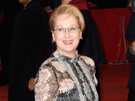 Jury-Präsidentin Meryl Streep auf dem Weg zur Eröffnungs-Gala der Berlinale 2016