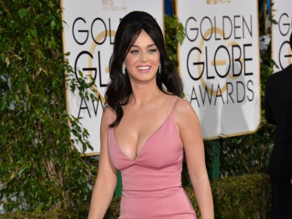 Nicht bei den Grammys dabei: Katy Perry wird es sich vor dem Fernseher gemütlich machen