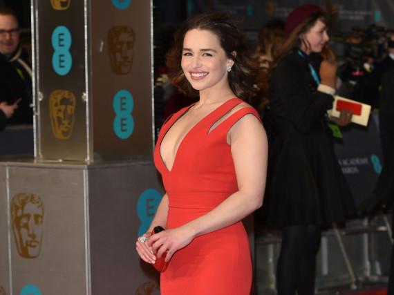 Strahlender Auftritt: Emilia Clarke bei den Bafta-Awards