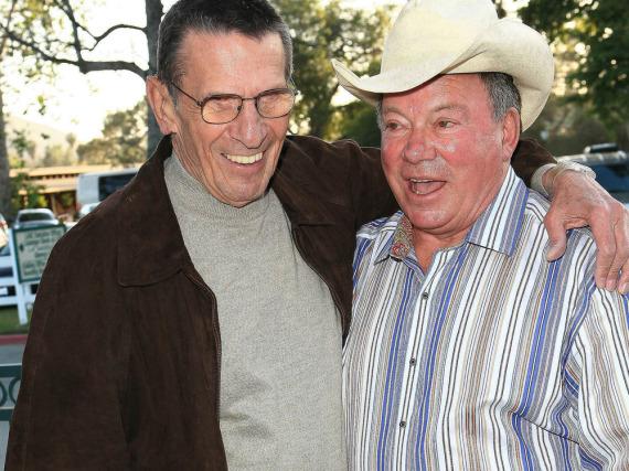 Leonard Nimoy und William Shatner 2009 bei einer Veranstaltung in Los Angeles
