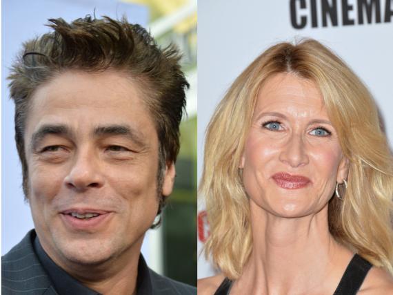 Benicio Del Toro und Laura Dern werden Teil der
