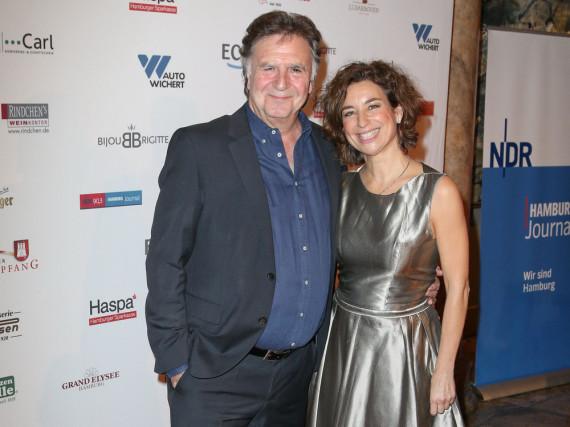 Isabel Varell und Pit Weyrich bei einer Veranstaltung im Herbst 2013