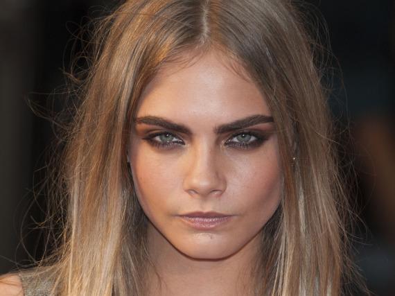 Topmodel Cara Delevingne ist für viele das absolute Augenbrauen-Vorbild
