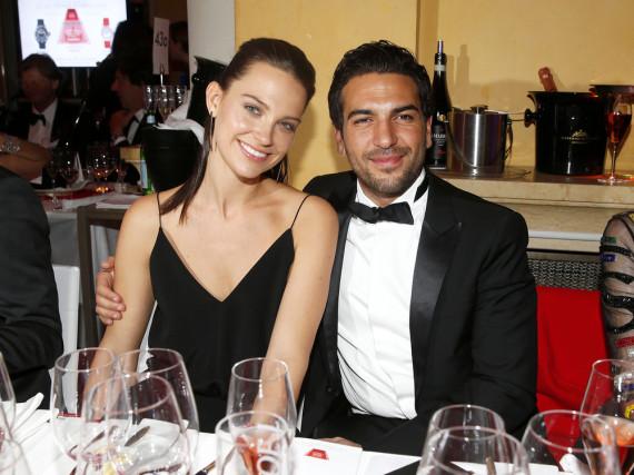 Elyas M'Barek und seine Freundin Julia bei ihrem ersten öffentlichen Auftritt beim Deutschen Filmball 2016