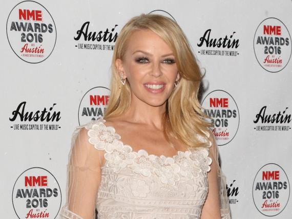Kylie Minogue im Style der