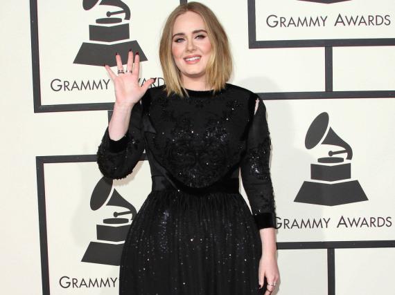 Adele wird ihren Grammy-Auftritt wohl nicht so schnell vergessen können