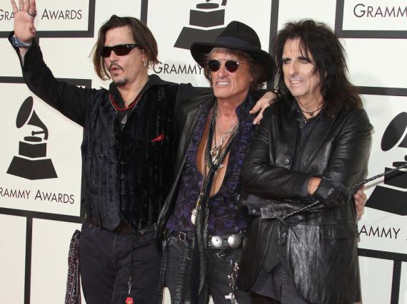 Johnny Depp passt perfekt in die Rockstar-Rolle