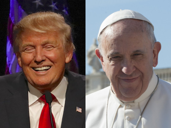 Das Verhältnis zwischen Donald Trump und Papst Franziskus scheint sich wieder zu entspannen