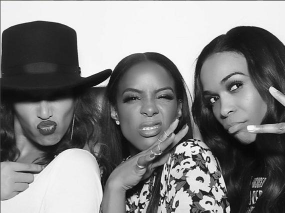 Wiedervereint auf einer Geburtstagsparty: Beyoncé Knowles, Kelly Rowland und Michelle Williams