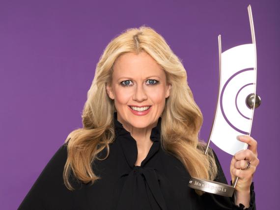 Zum vierten Mal moderiert Barbara Schöneberger die Echo-Verleihung